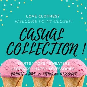 👩🎤Eclectic Treasures presents:CASUAL Collection